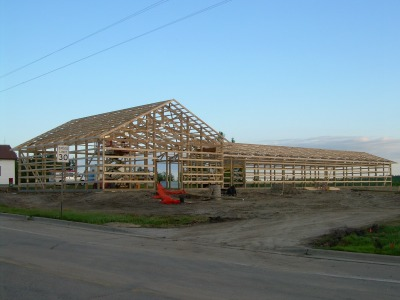 The Shell of the New Northwoods Bible Church